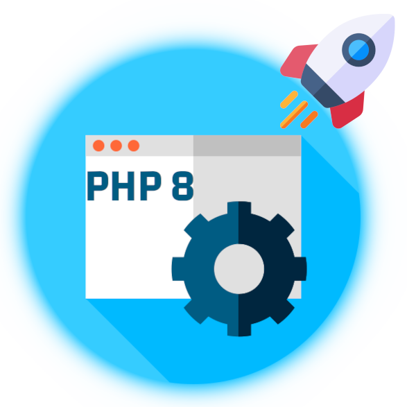 PHP 8.x and 7.x available for you